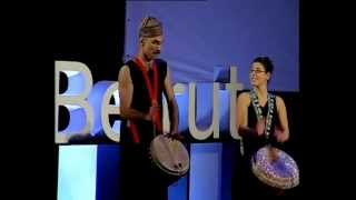 The Walkabout effect: Walkabout Drum Circle at TEDxBeirut 2012
