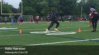 Steelers S Sean Davis hosts 1st football camp