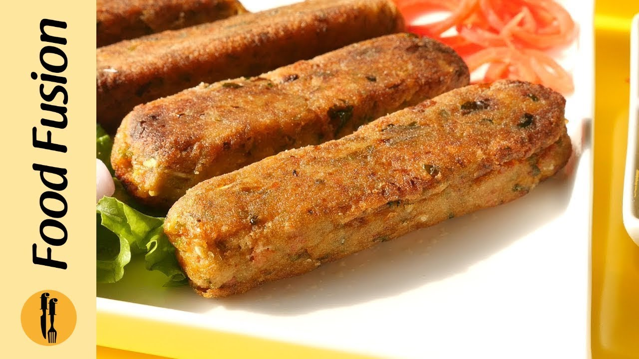 Vegetable Seekh Kabab Recipe By Food Fusion