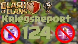 "COC [Kriegsreport #124] ""Ballonparade ohne Zauber"" 