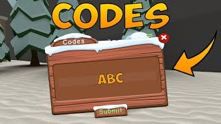NEW CODES FOR THE NORTH POLE | Roblox