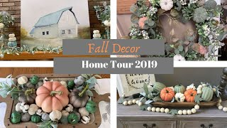 NEW!  FALL DECOR HOME TOUR 2019 | MODERN FARMHOUSE FALL DECOR | Decorate With Dana