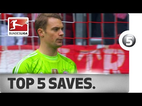Top 5 Saves - Neuer, Weidenfeller and More with Incredible Stops