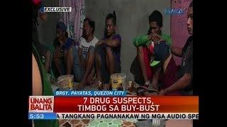 UB: 7 drug suspects, timbog sa buy-bust