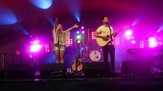 The Shires at Rhythms of the World