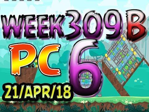 Angry Birds Friends Tournament Level 6 Week 309-B PC Highscore POWER-UP walkthrough