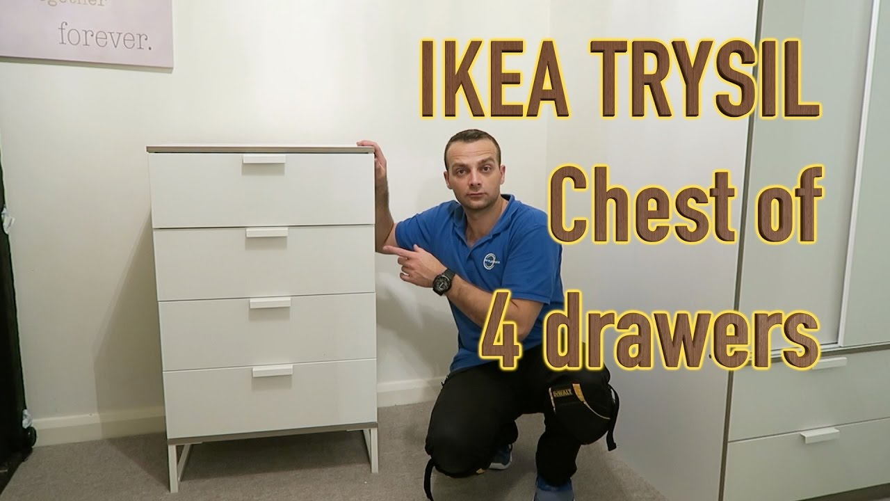 Ikea Trysil Chest Of Drawers Embly