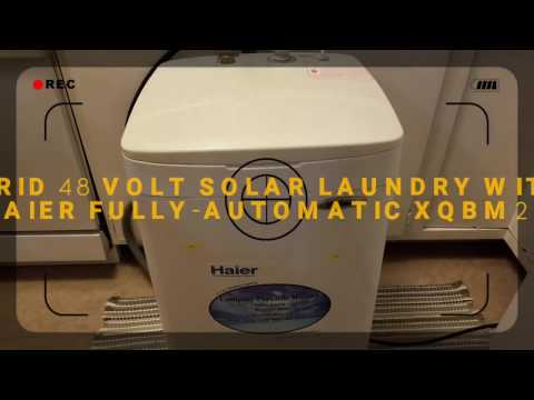 HAIER FULLY-AUTOMATIC XQBM22-C COMPACT PORTABLE WASHER BY jwsolarusa Pt#2