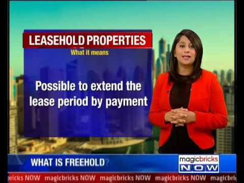 Difference between leasehold and freehold property