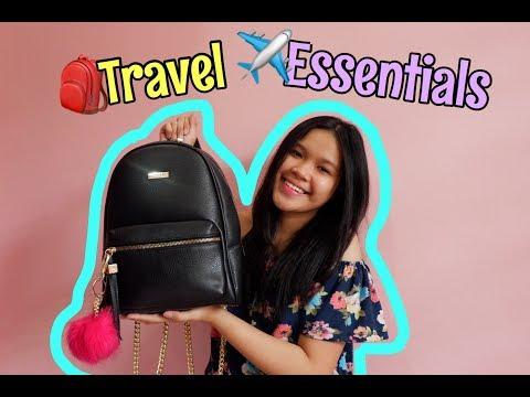 Travel Essentials | Evonn and Alyssa