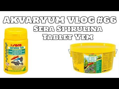 Hobihanem - Akvaryum Vlog #66 (Sera Spirulina Tablet Yem) [19.05.2017]