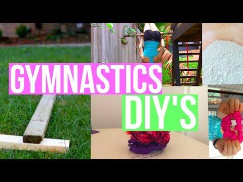 Easy Gymnastics DIY'S you MUST TRY! beam, bar + more❤︎