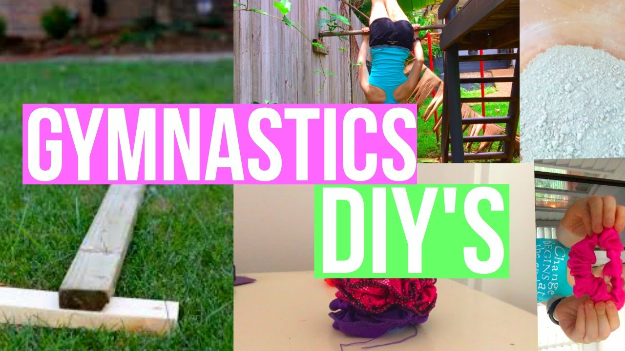 Easy Gymnastics DIY'S you MUST TRY