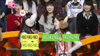Family Entertainment - SNSD - Exclaiming in the Silence Game