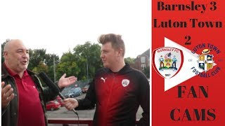 Barnsley 3 Luton Town 2 | We Contributed To Their Goals! | Steve