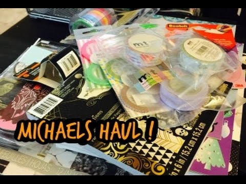 Michaels craft haul deserres youtube for Michaels craft store watches