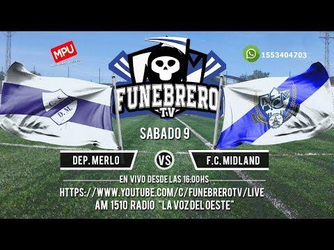 Dep. Merlo vs F.C. Midland - en vivo- 27° Fecha Primera C 2018/19