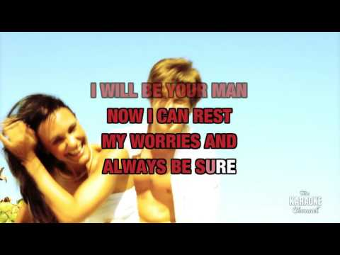 Now And Forever in the style of Richard Marx | Karaoke with Lyrics