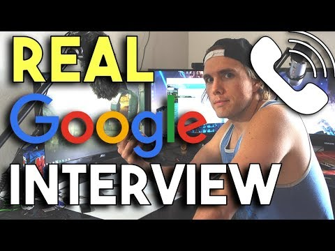 WHAT A REAL GOOGLE INTERVIEW IS LIKE – THE FIRST STEP