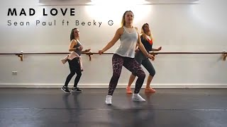 MAD LOVE Sean Paul, David Guetta ft Becky G || ZUMBA Dance Fitness Choreo Video