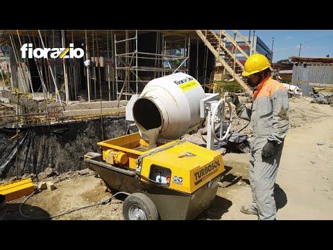 Mezcladora de Concreto y mortero Silenmix350E, Fiorazio thumbnail