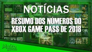 Primeiros jogos grátis da Game With Gold e números do Xbox Game Pass 2018