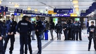 Several injured in Dusseldorf ax attack