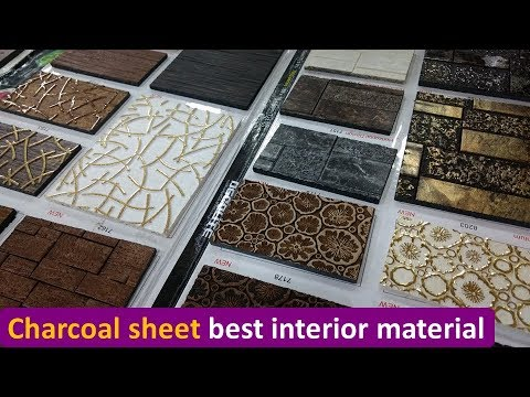 Charcoal Decorative Sheet For Interior Youtube
