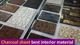 Charcoal Decorative Sheet for Interior