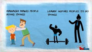 Leaders vs managers thumbnail