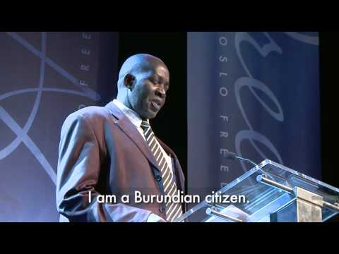 Pierre Claver Mbonimpa - Reform in Burundi