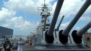 USS WISCONSIN SAVAS GEMISI 2