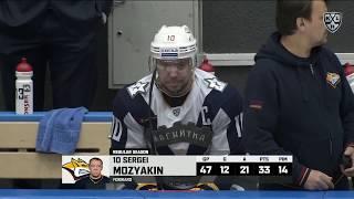 Mozyakin scores his 400th KHL goal