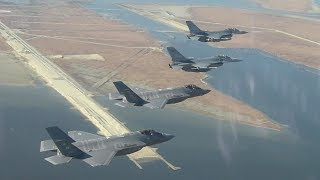 F-35s, F-16s Over South Korea: US, S.Korea Begin Largest-Ever Air Drill