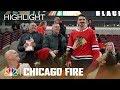 Otis Opens for the Chicago Blackhawks - Chicago Fire (Episode Highlight)