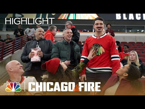 Otis Opens For The Chicago Blackhawks - Chicago Fire (Episode Highlight)