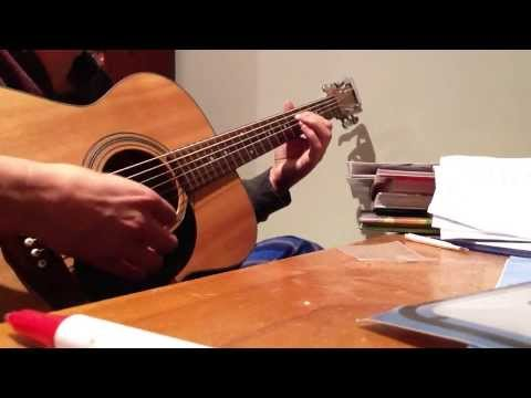 Open a minor, beautiful tuning I've recently discovered apologies for the bung notes.