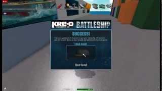 Roblox KRE - O Battleship: The Great Scavenger Hunt.