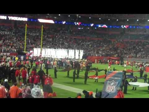 Pro Bowl AFC introduction LIVE 2010