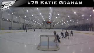 2018-2019 #79 Katie Graham GY 2023 Carolina Lady Eagle Highlights