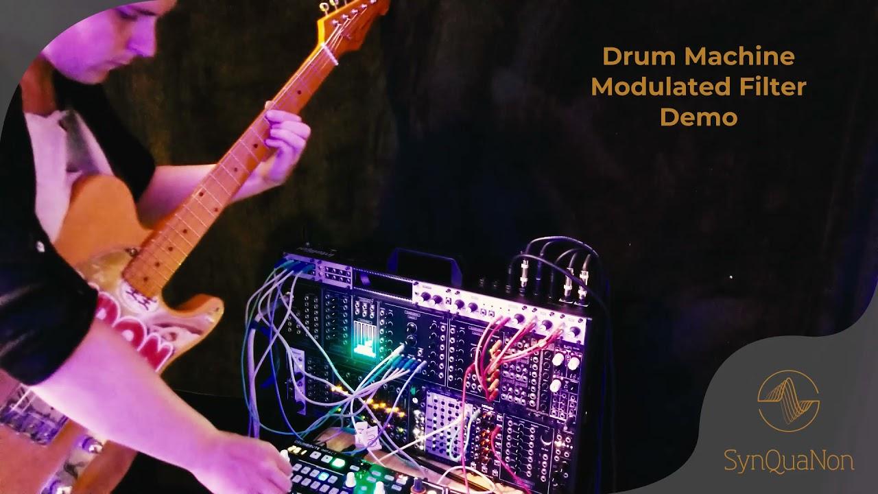Drum Machine Modulated VCF