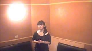 高橋洋子さんの「魂のルフラン」を歌ってみました(再掲)