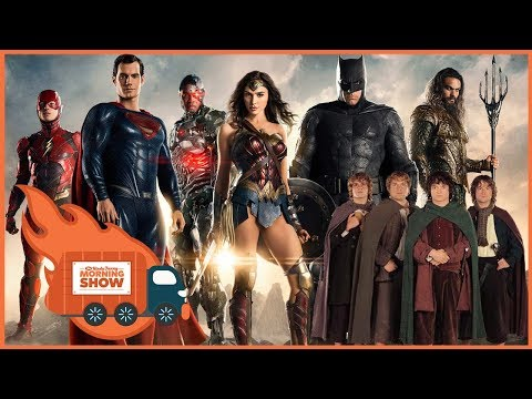 Justice League Early Impressions and LOTR TV Show - The Kinda Funny Morning Show 11.13.17