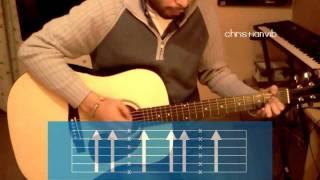 """Cómo tocar """"Yo Quisiera"""" de Reik en guitarra (HD) Tutorial - Christianvib"""