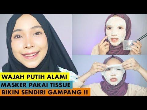 Diy Masker Alami Yang Memutihkan Dengan Cepat Cara Membuat Sheet Mask Sendiri Dengan Mudah Youtube