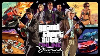 GTA V Diamond Casino and Resort All Cutscenes (Grand Theft Auto Online) Game Movie 1080p HD