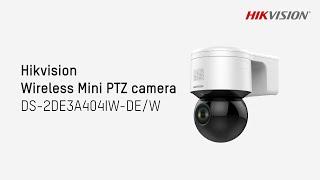HIKVISION DS-2DE3A404IW-DE(2.8-12MM) vidéo