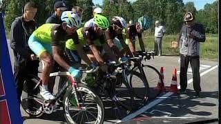 Летняя спартакиада велогонщиков стартовала в Петропавловске