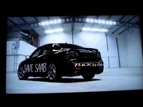 Saab 9 3 Turbo X Lap In Top Gear Test Track Forza 4