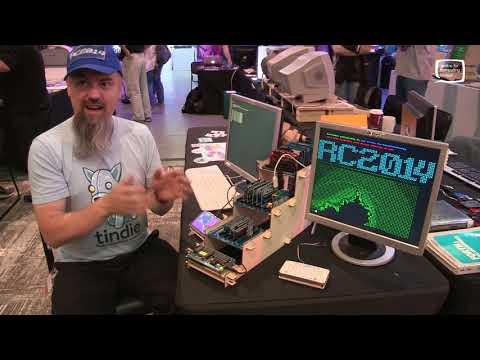 RC2014 - Homebrew Z80 Computer - Retro Computer Festival 2017 - Part 2